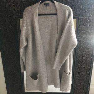 Topshop beige knit cardigan